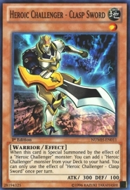 Heroic Challenger - Clasp Sword - 1st Edition - NUMH-EN011
