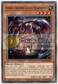 Nefarious Archfiend Eater of Nefariousness - 1st. Edition - SDCH-EN007