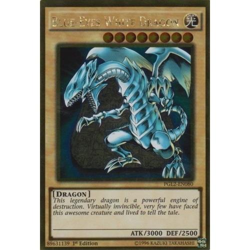 Blue-Eyes White Dragon - 1st Edition - PGL2-EN080