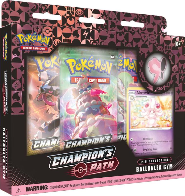 Pokemon - Champion's Path - Pin Collection - Ballonlea Gym
