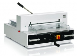 IDEAL 4350 Stapelsnijmachine tafelmodel