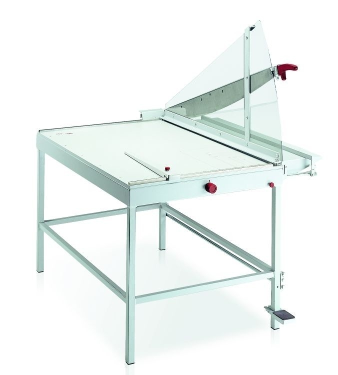 IDEAL 1110 Snijmachine / bordschaar 110cm met onderstel