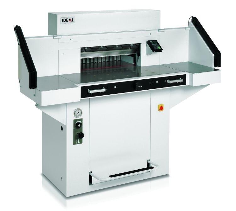 IDEAL 5560 Stapelsnijmachine met luchttafel
