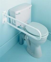 Opklapbare Toilet wandbeugel, opklapbare toiletbeugel