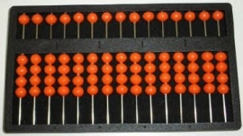 Abacus kunststof, rekenhulpmiddel (300100)