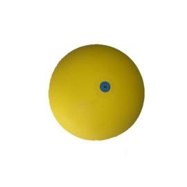 Gymnastiekbal met rinkelbel, 15 cm, geel