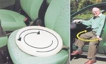 Draaikussen, draaischijf voor in de auto - Turn easy