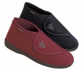 Pantoffel met klittenband voor mannen, pantoffel voor dikke en opgezwollen voeten, Albert - PR55152