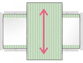Glijklaken voor het draaien en positioneren in bed, SatinSheet treklaken Midi 2D- ALMIM4118S