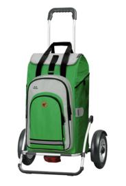 Boodschappenwagen met grote luchtbanden en spatborden, Royal Shopper Plus Hydro 2.0 Groen
