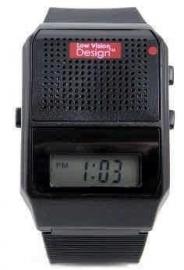 Duidelijk Nederlands sprekend horloge Zwart - 643001