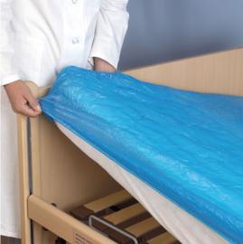 Wegwerp waterdichte matrasbeschermer als hoeslaken (disposable)