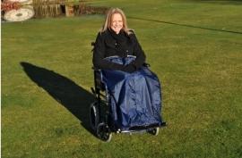 Beenbedekking, beenzak voor de rolstoel, rolstoelkleding - PR34021