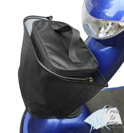 Afsluitbare tas voor uw scootmobielmand
