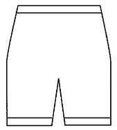 Directoire knie pijp, wollen onderbroek (50% angora, standaard kwaliteit, ondergoed Peters Angora) - 10090