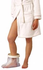 Gipshoes voor voet-enkel, hoes voor gips voor onder de douche (volwassenen)