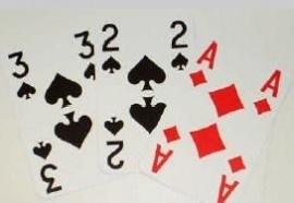 Extra Visible speelkaarten voor slechtzienden met grote cijfers en letters, 2 sets