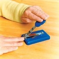 Nagelschaar op blok met anti-slipvoetjes (PR63005)