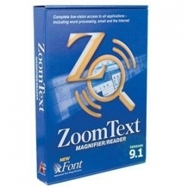 ZoomText magnifier v9.1 - Vergrotingssoftware