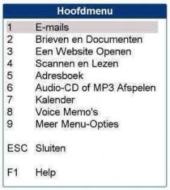 Guide vergroting, spraak en scan (900617)