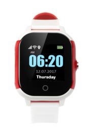 Horloge met alarmknop met GPS voor Alzheimer, Dementie, Wuzzi Alert Watch Indi