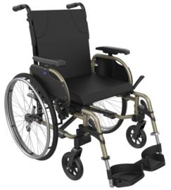 Prachtige lichtgewicht rolstoel met in hoogte verstelbare handvaten, Icon 20