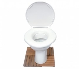 Extra brede toiletbril, XL toiletbril