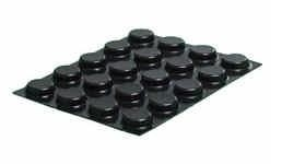 Bumpons medium zwart