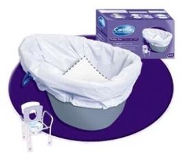 Toiletemmerzakken, CareBag zakken voor postoel