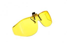 Voorhanger zonnebril Cocoons voor slechtzienden - Geel
