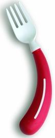Rechtshandige gekromde vork voor mensen met reuma, Henro-Grip