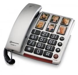Telefoon met extra luid volume (tot 40 dB) voor slechthorenden BigTel 40 Plus