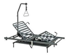 Bed-in-bed systeem, hoog-laag bed voor in bedombouw - BIB