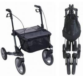 Topro Olympos, lichtgewicht rollator met grote wielen - handig voor in de auto