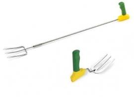 Tuin vork (tuingereedschap voor mensen met reuma of artritis (kort)