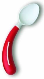 Linkshandige gekromde lepel voor mensen met reuma, Henro-Grip