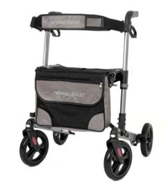 Dubbel opvouwbare lichtgewicht rollator voor in de auto, Track Wheelzahead