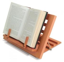 Opvouwbare boekstandaard hout (PR70095)