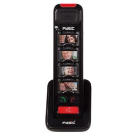 Extra draadloze handset met fototoetsen, uitbreiding voor de Fysic FX-8025
