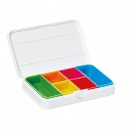 Pillendoos met alarm wit, Smart pill box met App op uw telefoon