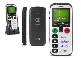 Eenvoudige mobiele telefoon, Doro 580