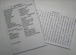Grootletter speurderspuzzelboek, speurders puzzelboek met grote letters voor slechtzienden - UT-speurderspuz