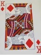 Reuzenspeelkaarten, speelkaarten met grote cijfers en afbeeldingen - 694640