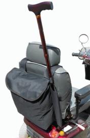 Tas voor uw scootmobiel met stokhouder