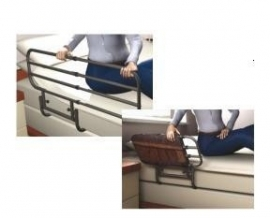 Bedhek, in lengte verstelbaar (Pivot-rail)