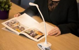 Oplaadbare snoerloze LED-lamp om te lezen