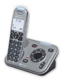 Dect telefoon voor slechthorenden met antwoordapparaat PT 1780