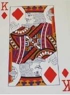 Reuzenspeelkaarten, speelkaarten voor slechtzienden met grote cijfers - 694640