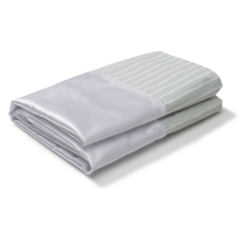 Basis glijlaken voor het draaien en positioneren in bed, SatinSheet 2D Basislaken, Midi 2D - ALMIM4119S