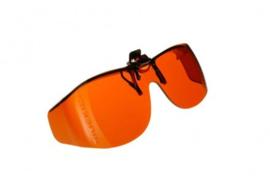 Voorhanger zonnebril Cocoons voor slechtzienden - Oranje